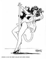 Comic Striptease