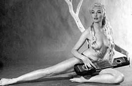 burlesque queen Lili St. Cyr.