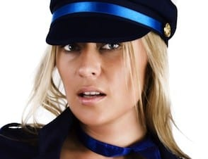 Police hired Strippers