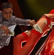 Strip club customer