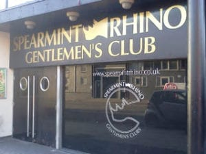 Spearmint Rhino sheffield for sale