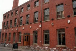 A new lap dancing club opens next to Leeds' most historic buildings