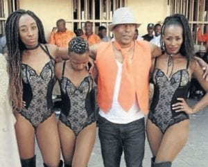 South Africa inmates get treated to strippers during an official event