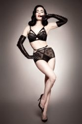 Burlesque Celebrity Dita Von Teese Interview with Strip Magazine
