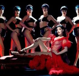Queen of burlesque Dita Von Teese teaches us how to seduce