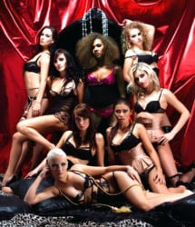 lap dancers at Darling Cabaret