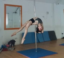 Esme pole dancer