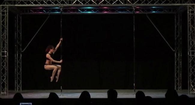 Plymouth rising pole dancer