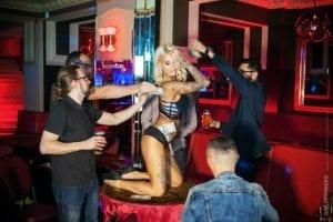 Scarlets lap dancing club Birmingham