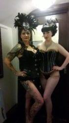 Burlesque star Raven Noir
