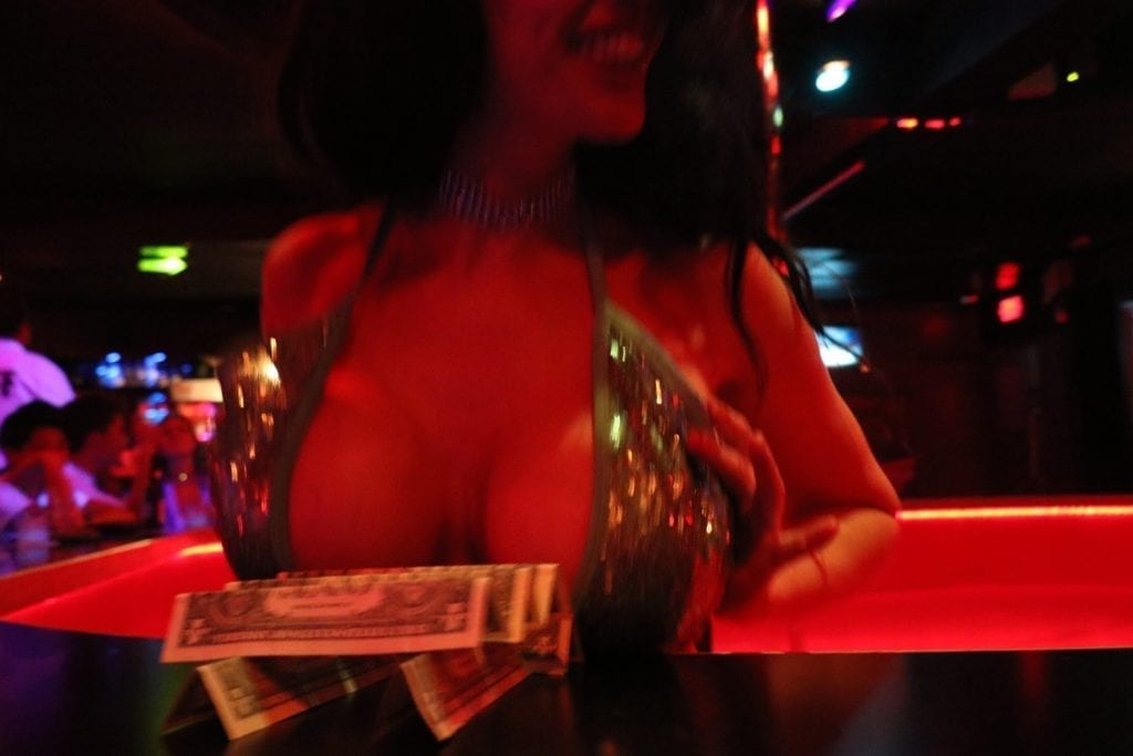 cash cleavage glitter dress nightlife