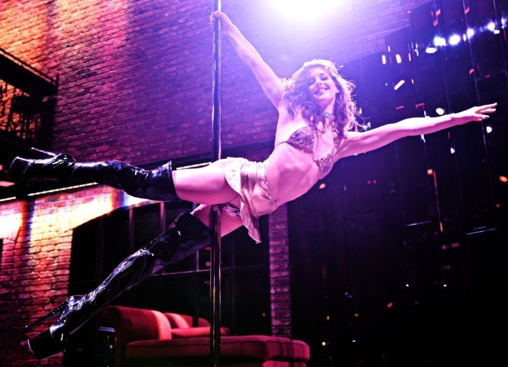Nina Flies On The Pole